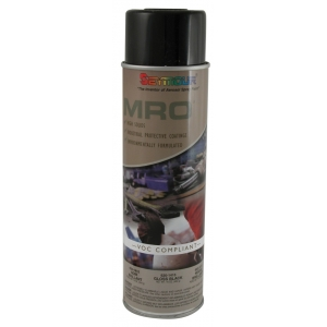 high solids mro spray paint gloss black. Black Bedroom Furniture Sets. Home Design Ideas